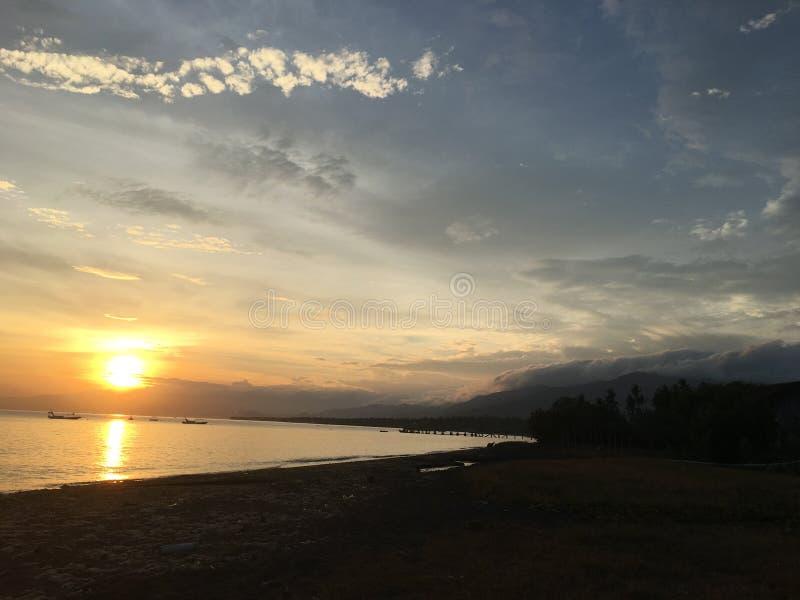 Penyabangan plaża obrazy royalty free
