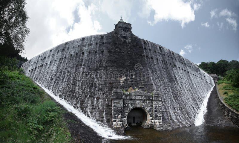 Penygarreg reservoir stock photo