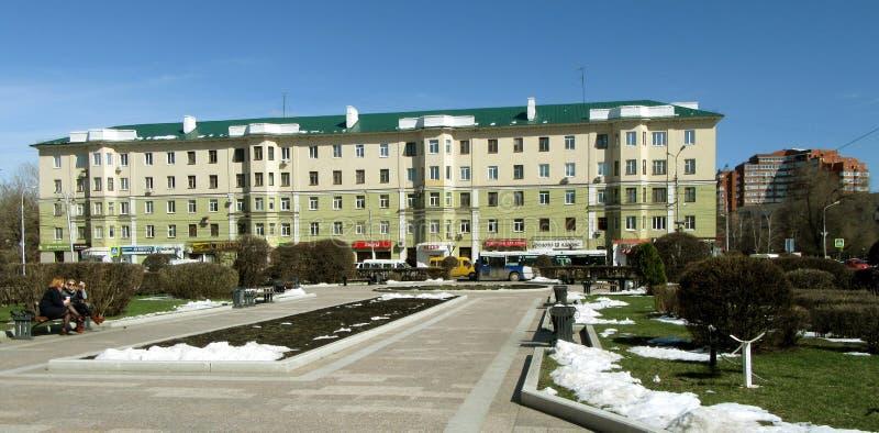 Penza Place en place de Lénine photos libres de droits