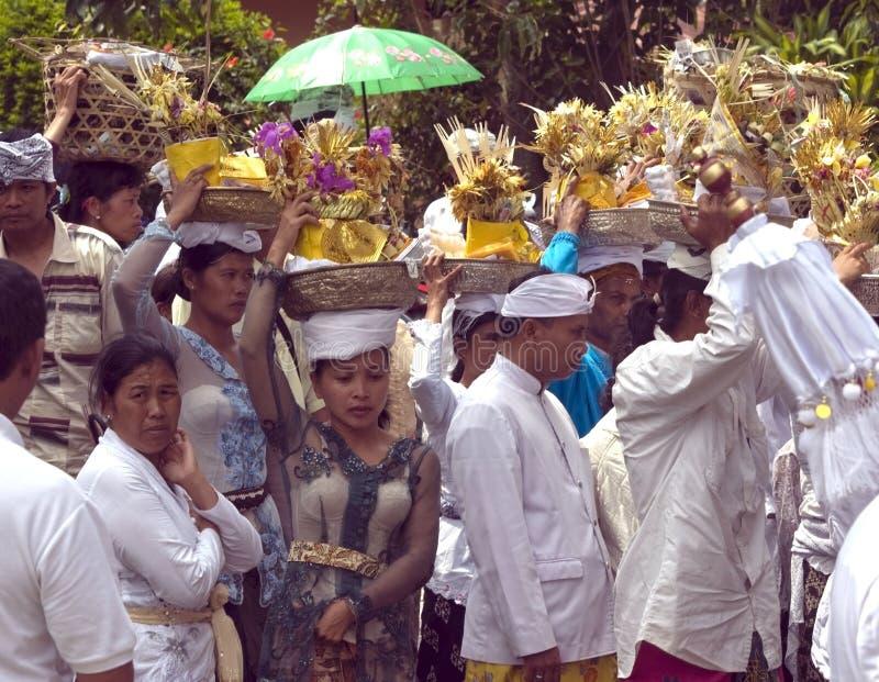 Peolple del Balinese fotos de archivo libres de regalías