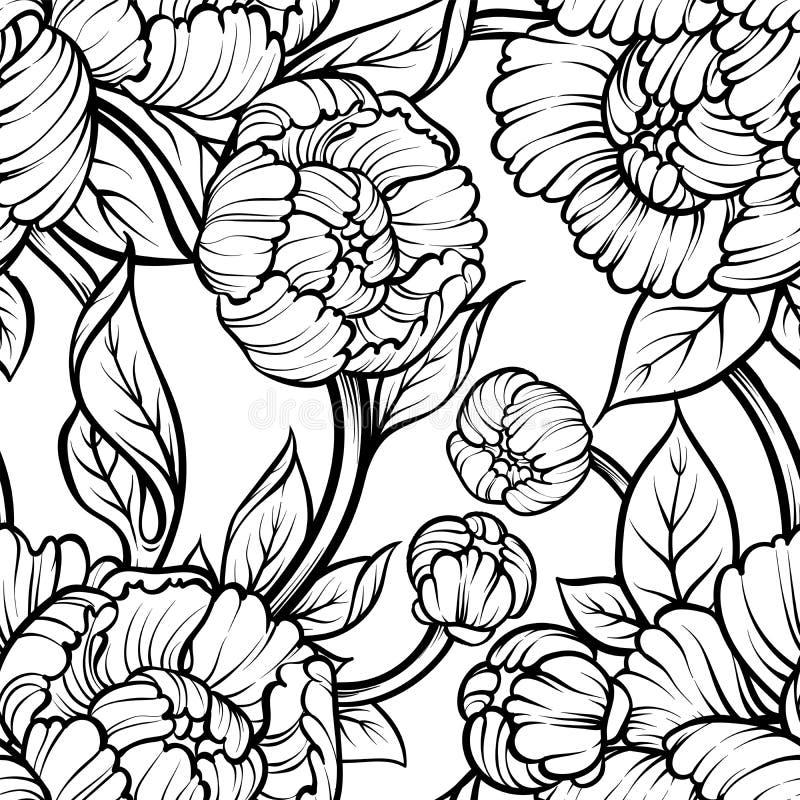 seamless pattern  vintage decorative elements  hand drawn background  baroque motifs  stock