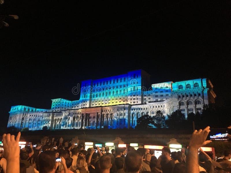 People'shuis in Roemenië royalty-vrije stock fotografie