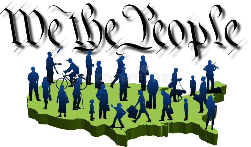 We-people_02 illustration libre de droits