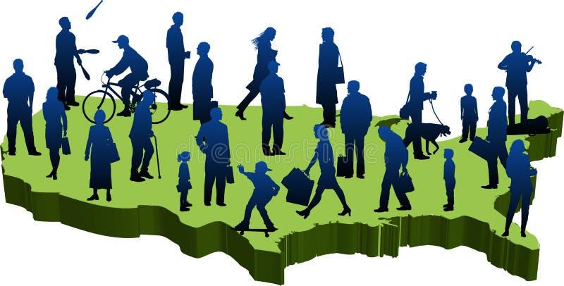 We-people_03 ilustração do vetor