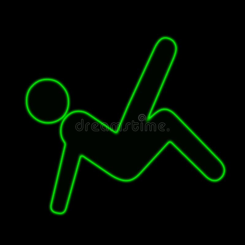 Download People 1 stock illustration. Image of happy, neon, people - 256307