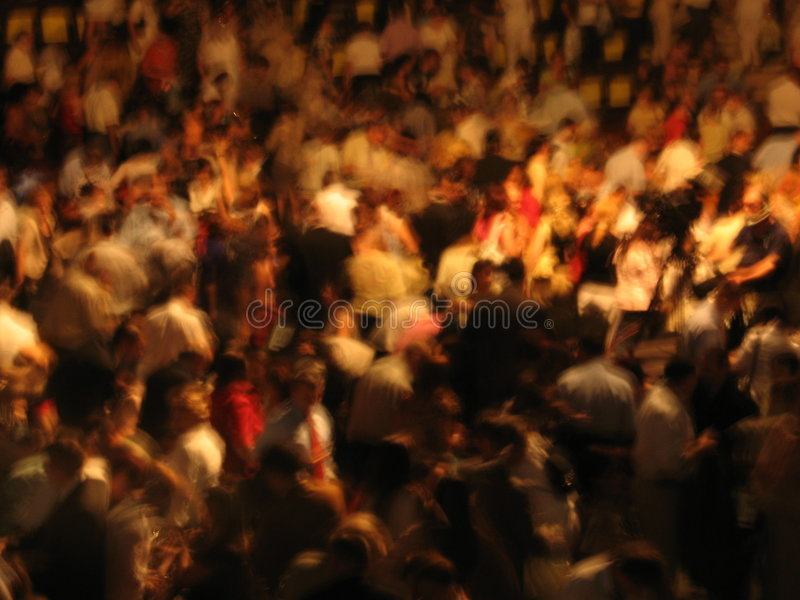 People. In a conference hall stock photo