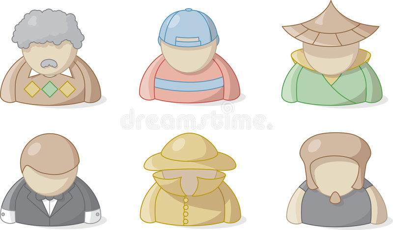 Download People 3 stock vector. Image of vector, professor, icon - 1673213
