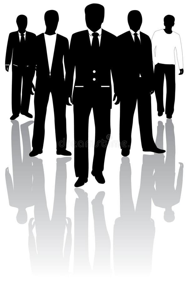 People royalty free illustration