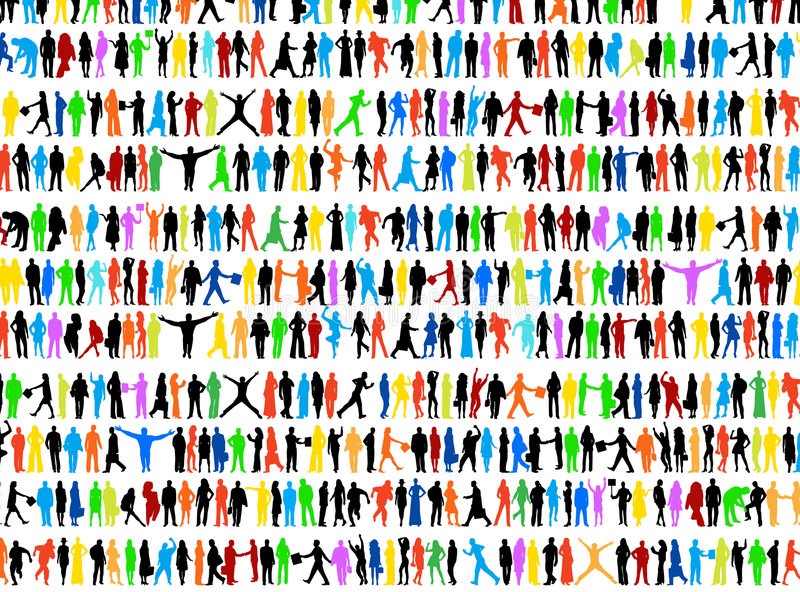 People stock illustration