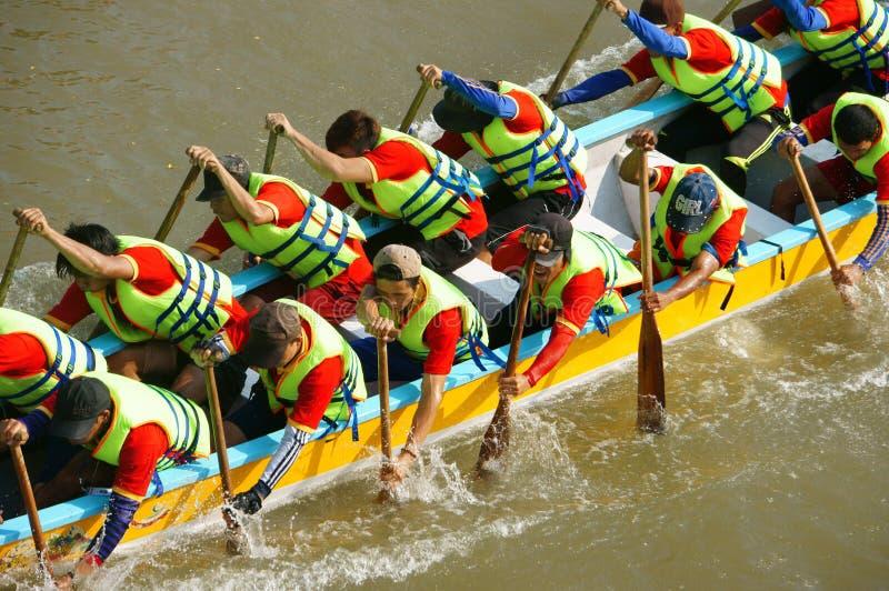 People In Activity  Rowing Dragon Boat In Racing Editorial