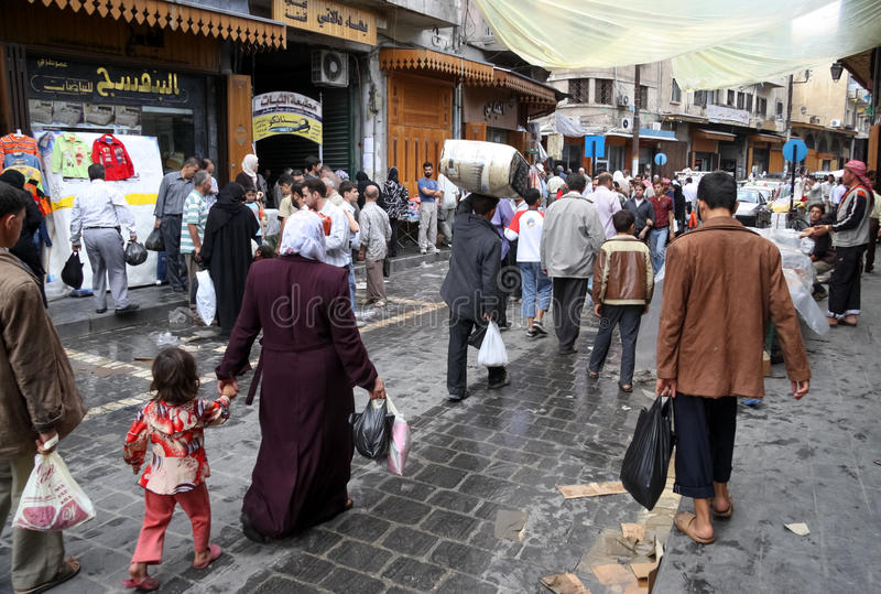 People Aleppo royalty free stock photos