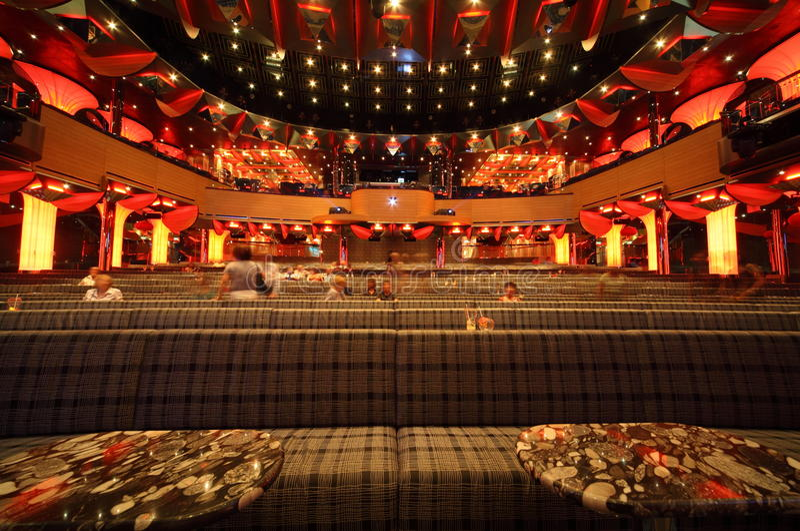 Download People In Big Illuminated Hall Of Costa Deliziosa Editorial Photo - Image: 16331851