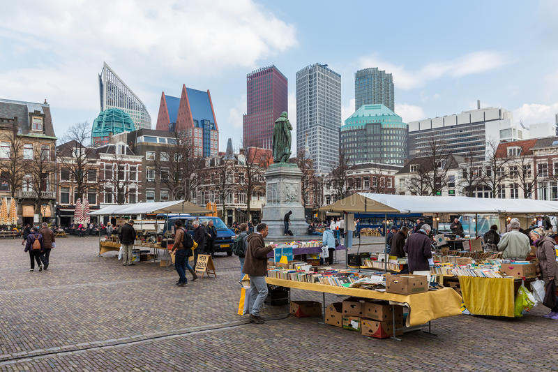 Download People At A Bookmarket Near The Dutch Government Buildings In The Hague Editorial Photo - Image of business, seller: 39505461
