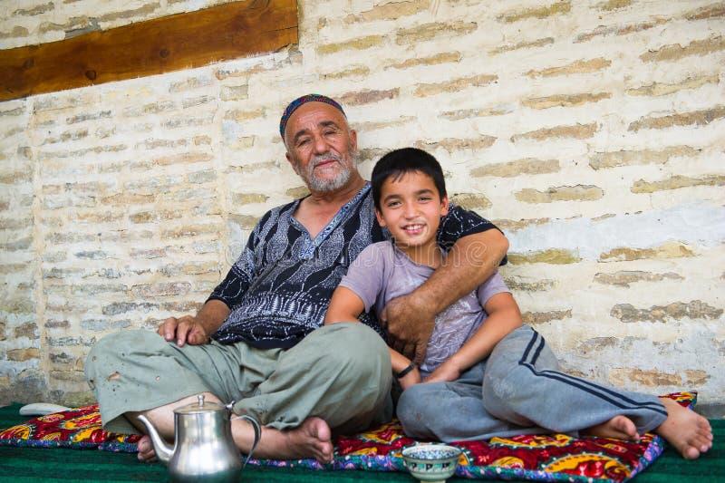 People in BUKHARA, UZBEKISTAN royalty free stock photos
