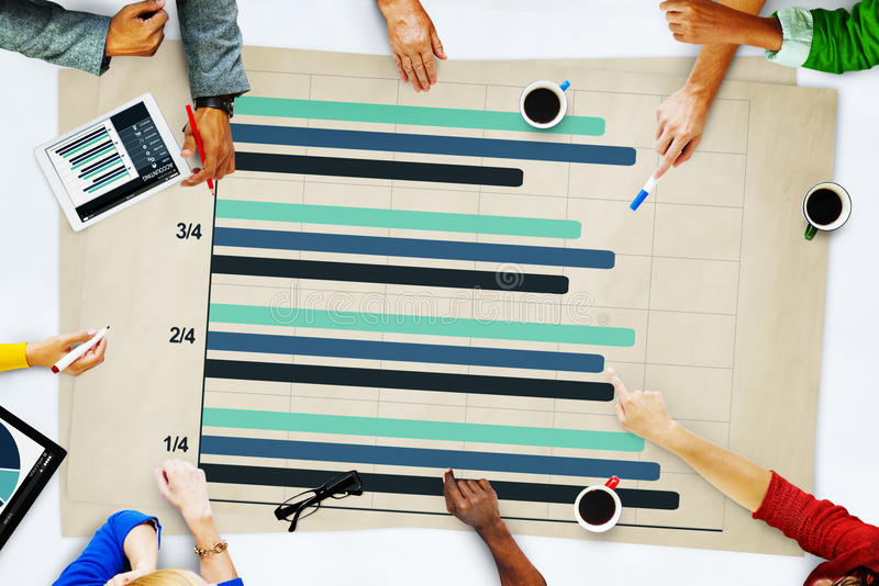 People Business Accounting Report Analysis Concept royalty free stock images