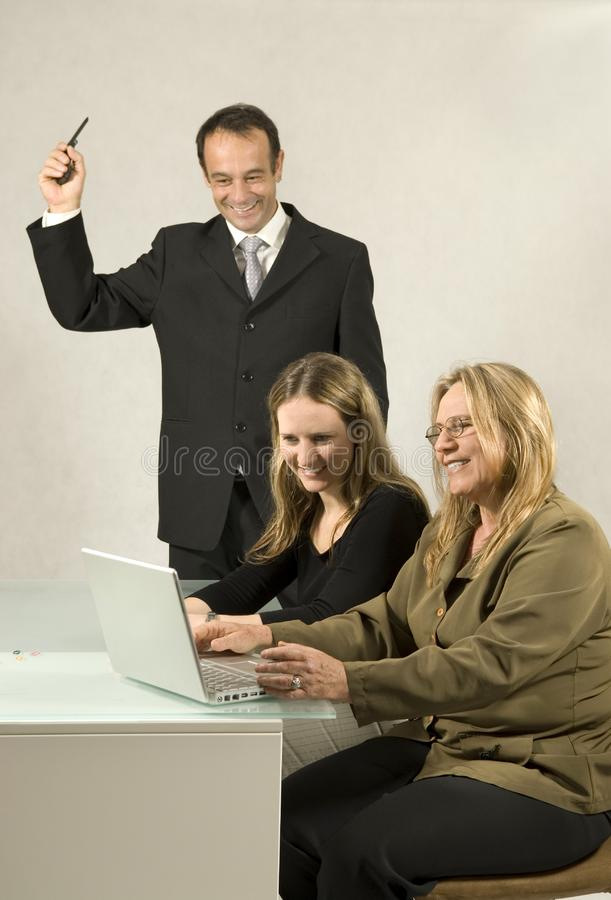 People in Business Meeting royalty free stock photo