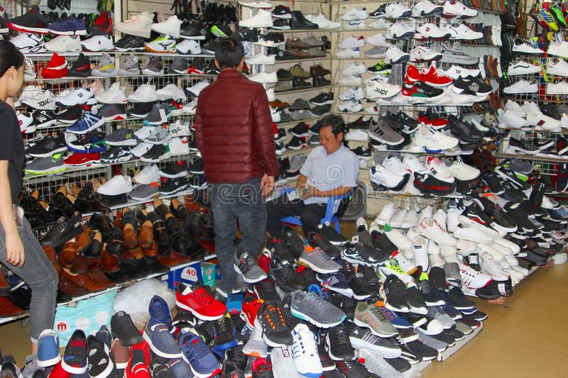 October 2018, People Buy Shoes Store