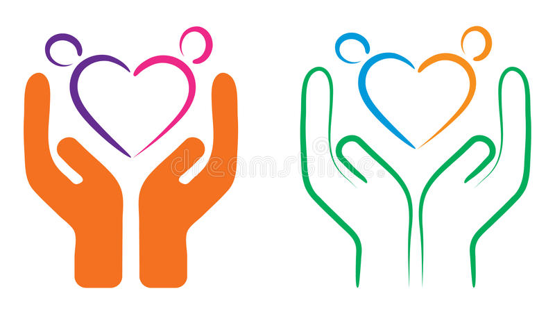 Download People care stock vector. Illustration of comfort, help - 26804049