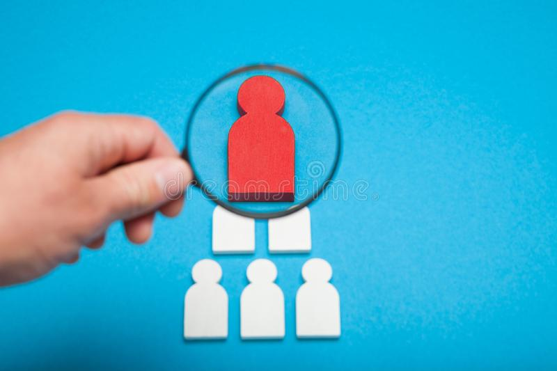 People career and job concept. New interview stock image