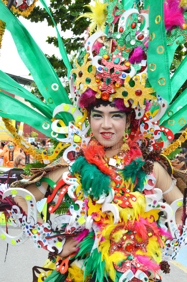People On Carnival Editorial Stock Image