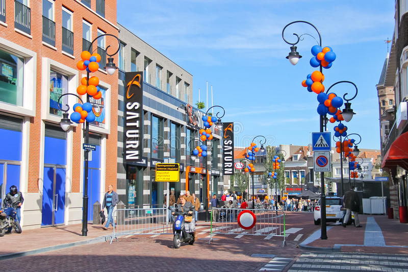 Download People On The Celebratory Street   In Dordrecht, Editorial Stock Photo - Image: 34665568