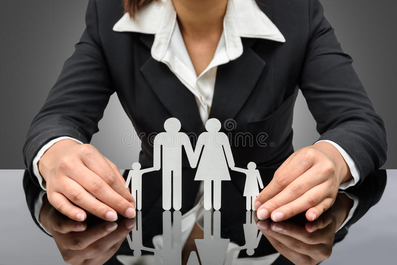 People, charity and care concept stock image