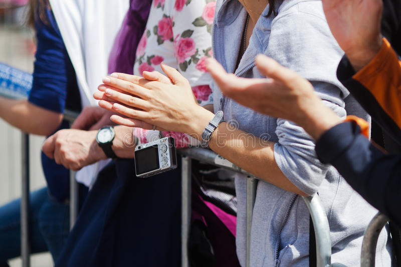 Download People Clapping Their Hands Stock Photo - Image: 25236396