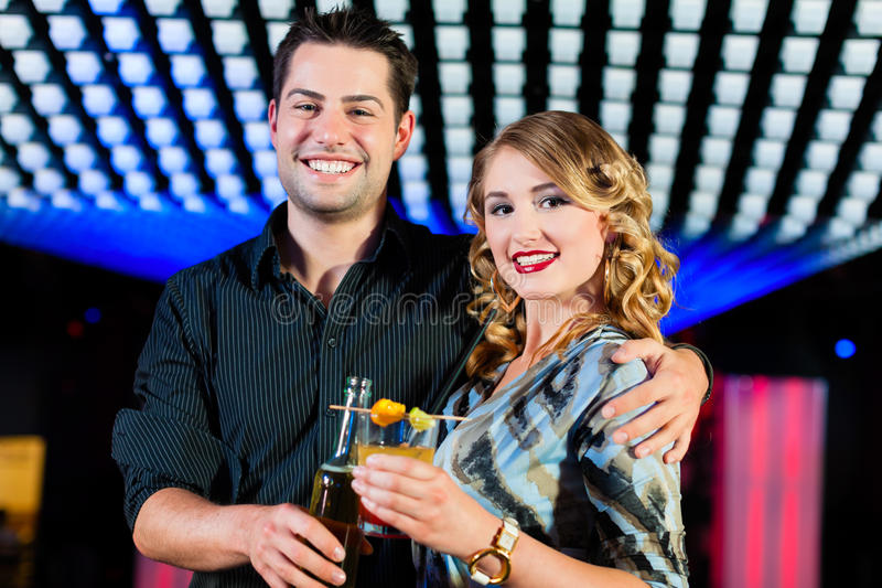 Download People With Cocktails In Bar Or Club Stock Images - Image: 24648504