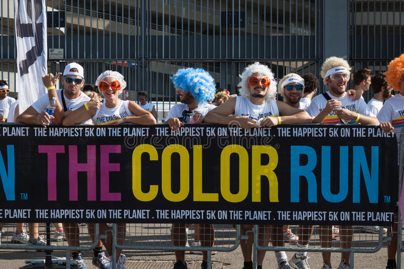 Download People At The Color Run Event In Milan, Italy Editorial Photo - Image: 33502681
