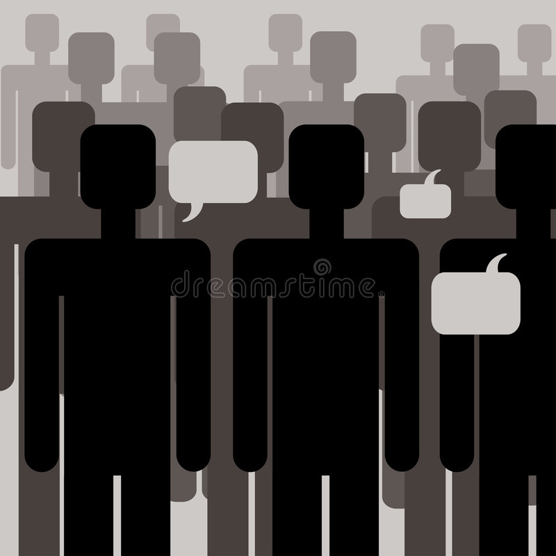 Download People- communication stock vector. Image of pattern, human - 5960712