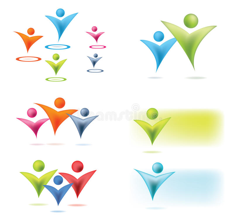 Download People concept stock vector. Illustration of blue, group - 23500372