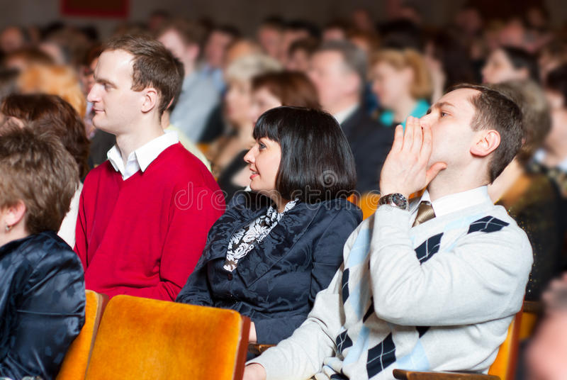 Download People at the conference stock photo. Image of information - 14499106