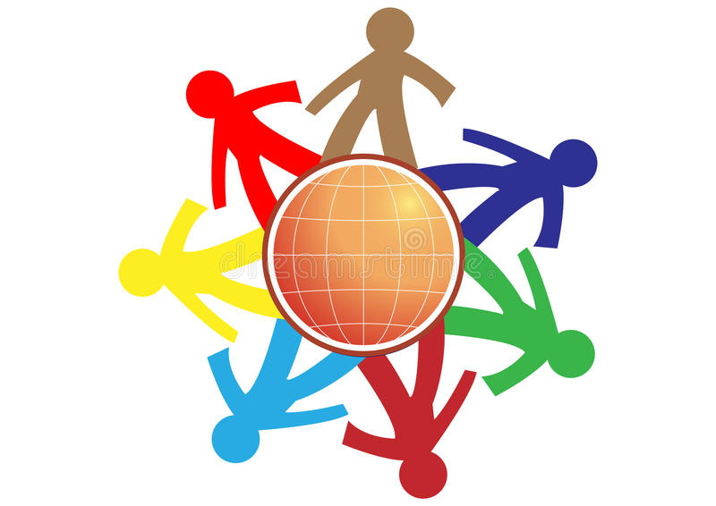 Download People connect stock illustration. Image of connection - 17104211