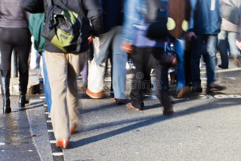 Download People crossing the street stock image. Image of walking - 24443601