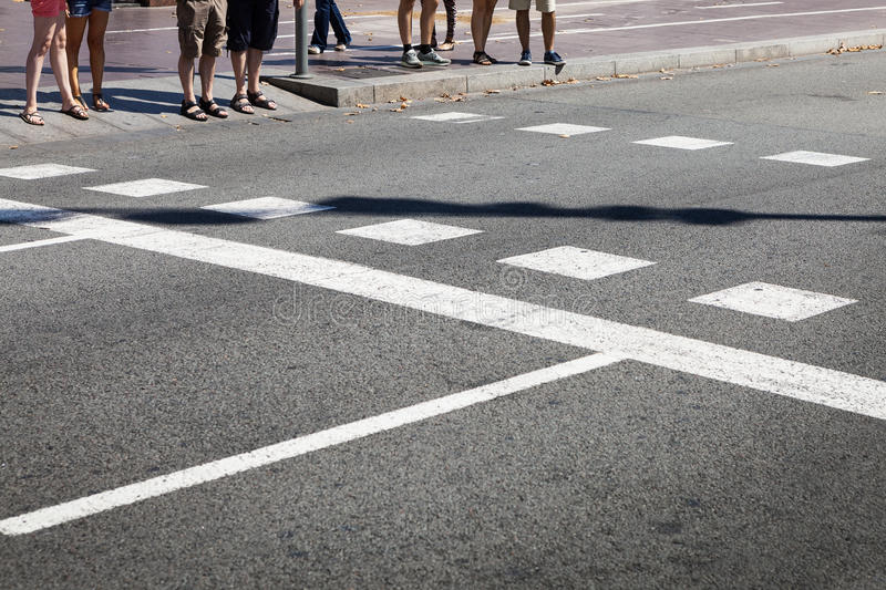 People at the crossroads stock images