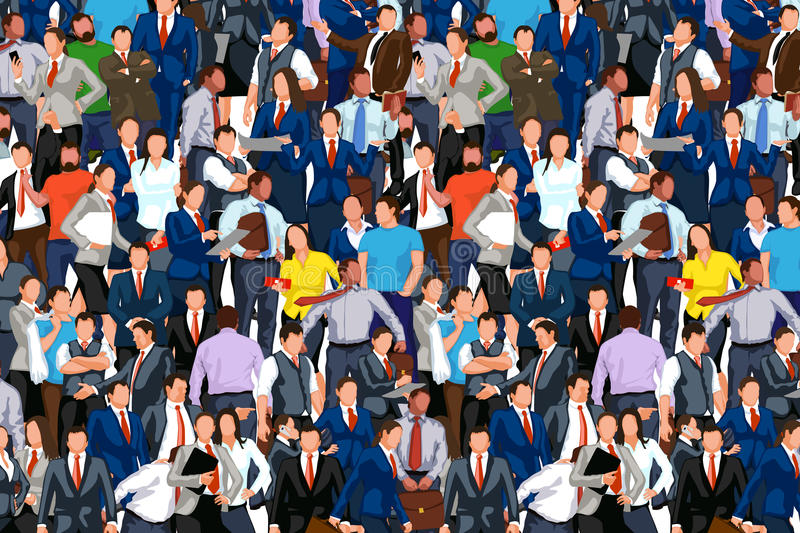 People crowd 02 vector illustration