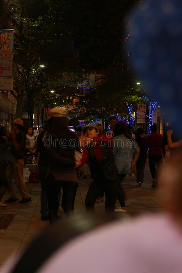 People Dancing In Street Free Public Domain Cc0 Image