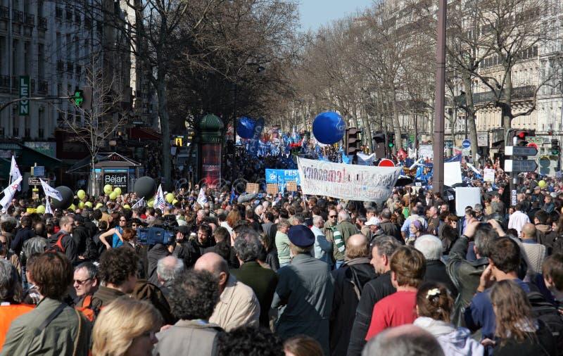 Download People Demonstrate In Paris Editorial Stock Image - Image: 8623354