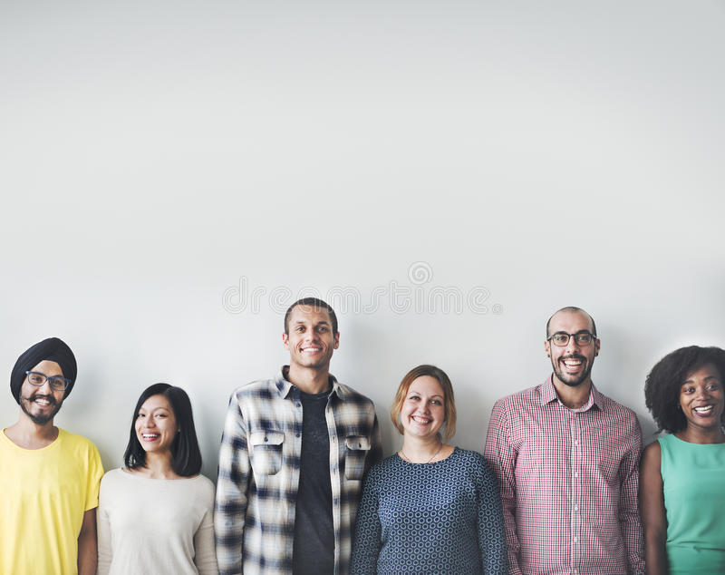 People Diversity Friends Friendship Happiness Concept.  stock photography