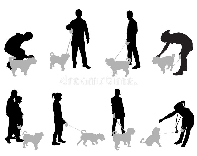 Download People With Dogs Stock Images - Image: 8121604
