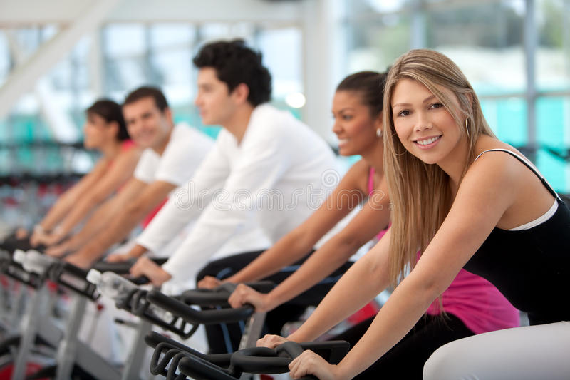 Download People doing spinning stock image. Image of lifestyle - 15243363