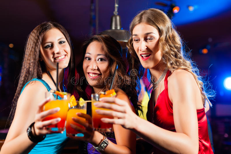 People Drinking Beer In Bar Or Club Stock Photography ...  |People Having Fun In A Club