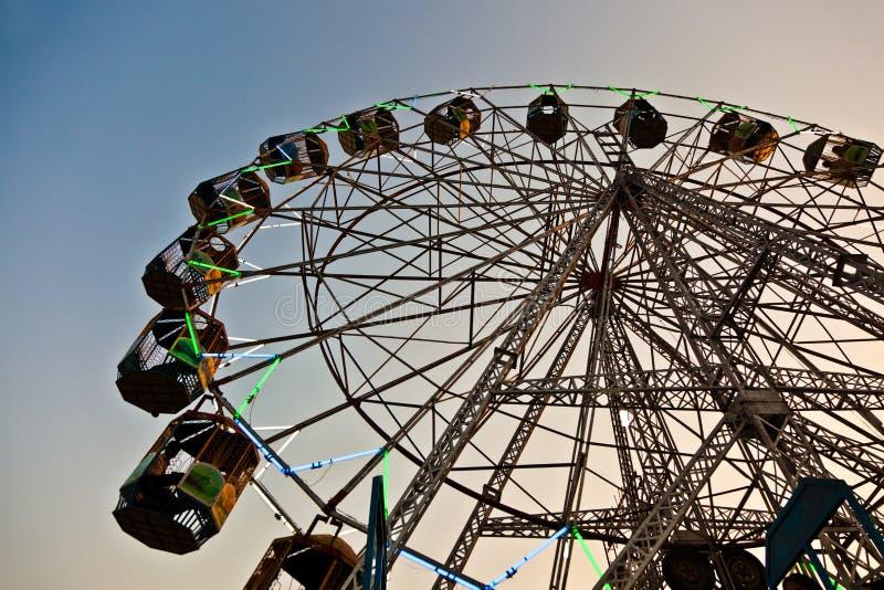 Download People enjoy the big wheel stock image. Image of festival - 22286781
