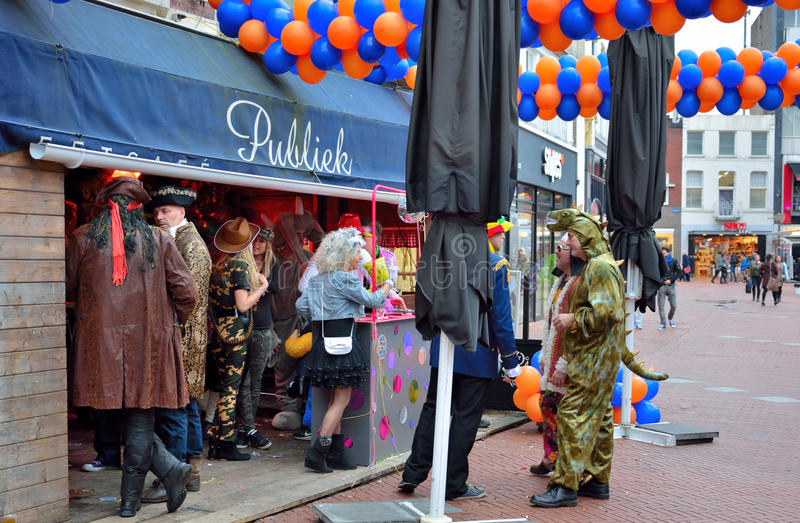 People enjoying carnaval royalty free stock photo
