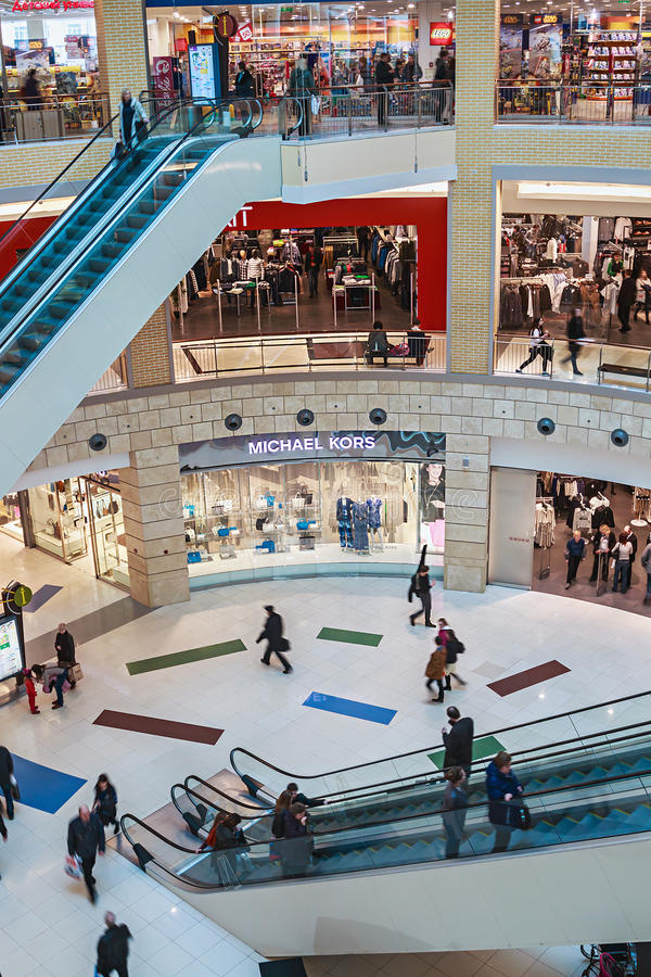 Download People Enter To Metropolis Shopping Center In Moscow, Russia Editorial Photo - Image: 39544656