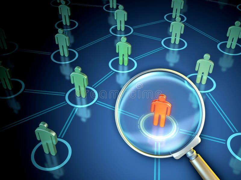 Download People Finder stock illustration. Image of illustration - 23382101