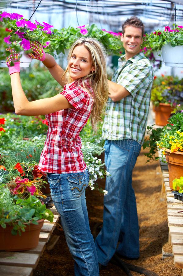 Download People florists stock photo. Image of people, botany, couple - 8514734