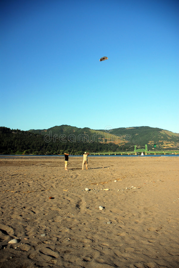 Download People flying kites stock photo. Image of open, outdoors - 2542796