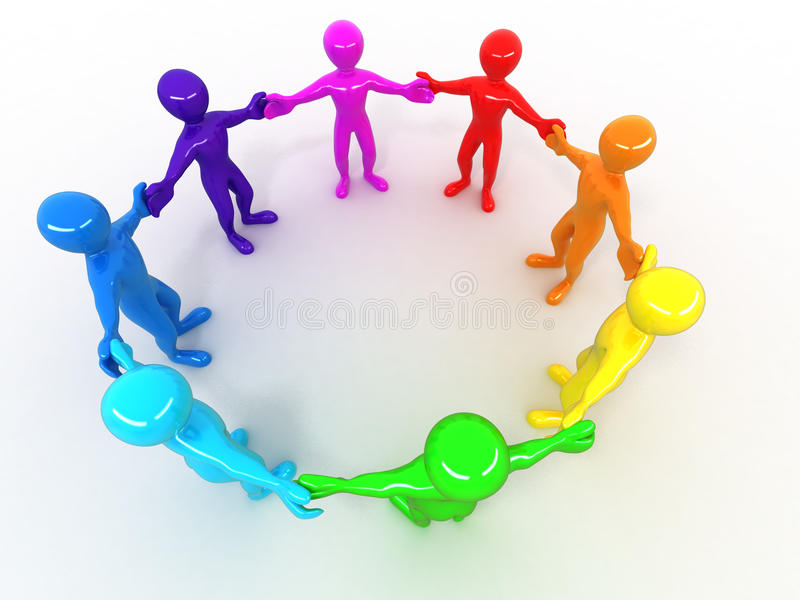 Download People. Friendship. stock illustration. Illustration of image - 15199458