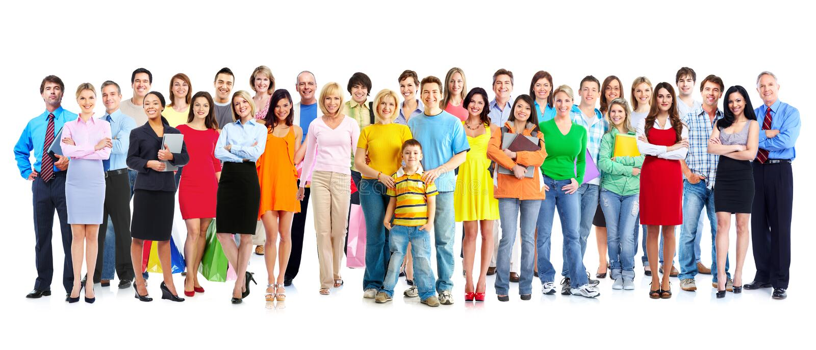People group. stock photo